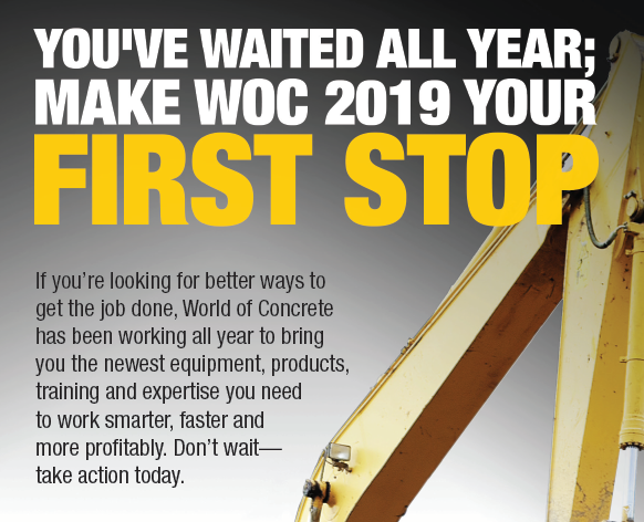 World of Concrete 2019   Blog   CPAA   The Concrete Pumping